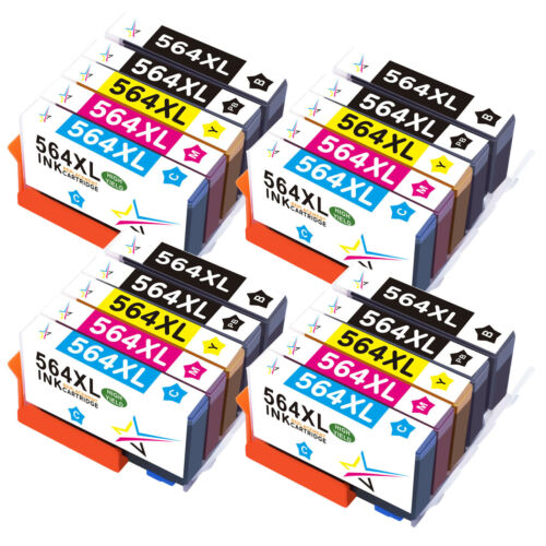 30PK 564XL Ink Cartridges Chip For HP Photosmart B8550 B8500 D5400 D5468 C410