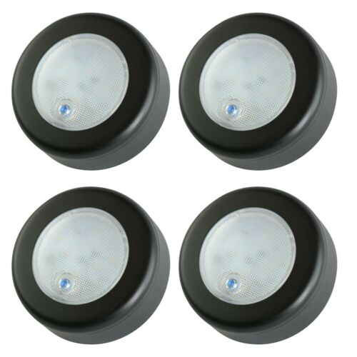 "4 Pcs 3/"" IN 9 LED Black ACCENT CEILING CABIN DOME LIGHT DC12V MARINE RV TRAILER"