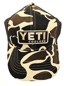 35510df373d12 YETI Trucker Hat Custom Camo Snapback Patch Mesh Camouflage NEW Ball ...
