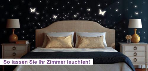 Leuchtaufkleber Fluorescent étoiles Ciel étoilé 160 pièces lampes Glow