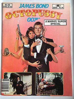 James Bond 007 Octopussy Postkarte 15x10cm #70665