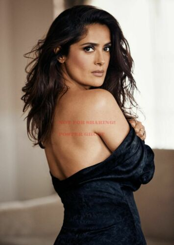 24 24 inch by 36 inch Hollywood Art Photo Poster SALMA HAYEK Poster