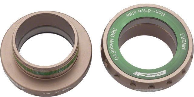 Nuevo FSA MegaEVO Acero 68mm inglés Soporte inferior  para 386 EVO manivelas  comprar marca