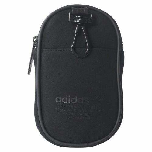 adidas ORIGINALS NMD ACCESSORY POUCH MAN BAG BLACK RETRO VINTAGE FESTIVAL NEW