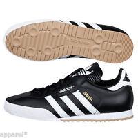 adidas Samba Mens Originals Trainers Black Leather Classic Super Indoor Casual