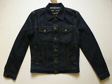 NWT Burberry Brit Skipper Denim Jacket (Mid Indigo;  S) US$495