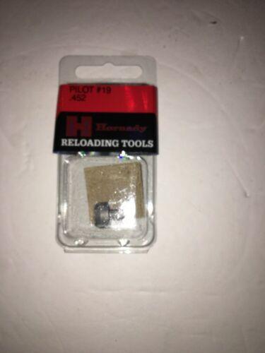 45 Caliber 452 Diameter Hornady Case Trimmer Pilot #19 390961