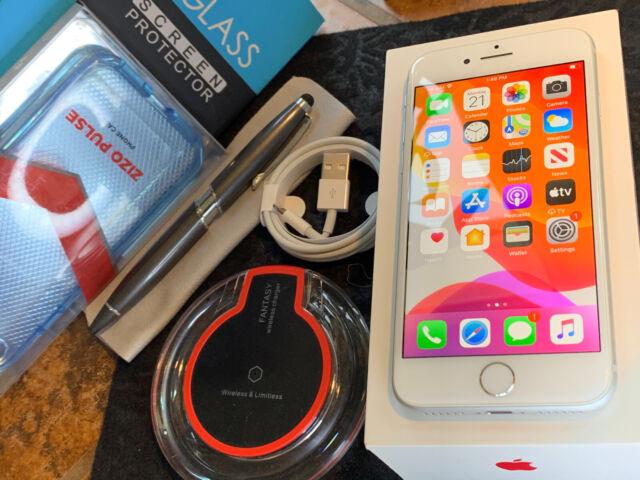 Apple iPhone 8 (64gb) Verizon Globally Unlocked (A1863) Silver: MiNT {iOS13}90%