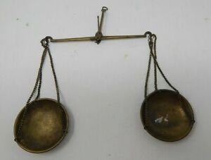 Vintage Antique Br Hanging Balance