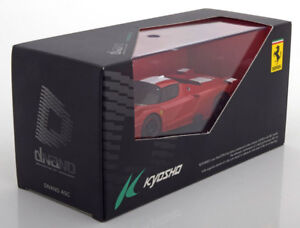 FERRARI-FXX-RED-WHITE-KYOSHO-DNX506R-1-43-DNANO-COLLECTION-ROSSO-BIANCA-ROT