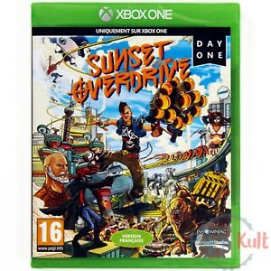 Jeu Sunset Overdrive - Day One [VF] sur Xbox One NEUF sous Blister