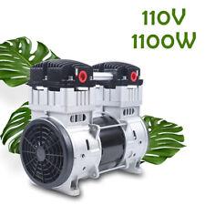 8bar 200lmin Air Compressor Vacuum Pump Oilfree 7cfm Head Diaphragm Pump 110v