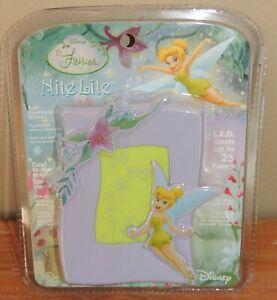 NEW-DISNEY-FAIRIES-TINKERBELL-NITE-LITE-SOFT-CONTINUOUS-GLOW-LED-LASTS-25-YEARS