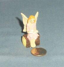 16950 Dollhouse Miniature Fairy Garden Sitting Girl Fairy Cornflower