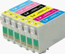 6 INKS FOR EPSON R265 R285 R360 RX285 RX560 RX585 RX685