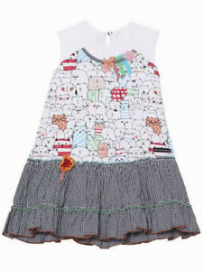 25855b4f6aa32 Image is loading Deux-Par-Deux-Little-Girls-Jersey-Dress-Size-