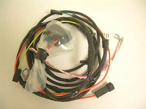 1965 1966 impala belair biscayne engine wiring harness 283 327 with 1984 chevy impala  chevy truck wiring harness