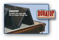 Duratop Pool Table Dining Top Conversion 9' Free Shipping