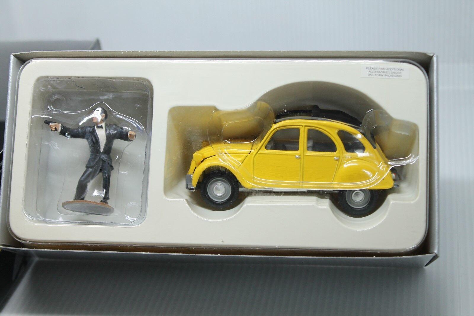 compras en linea Corgi Juguetes Collection    citroen 2 CV  James Bond  embalaje original  1 36  con figura  disfrutando de sus compras