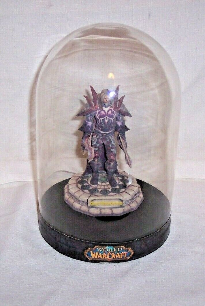 World of Warcraft  gerthadora  5  figura de menos de 9  figura de cúpula de vidrio Grabados