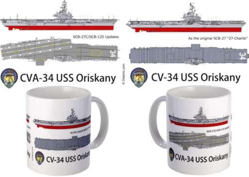 USS Oriskany CVA-34  mug