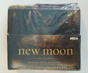 2-Factory-Sealed-Boxes-The-Twilight-Saga-New-Moon-Trading-Cards-Vampires
