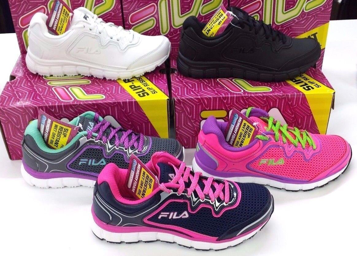Fila women Athletic Sneaker - Memory Fresh Start SR - Memory Foam Slip Resistant Great discount