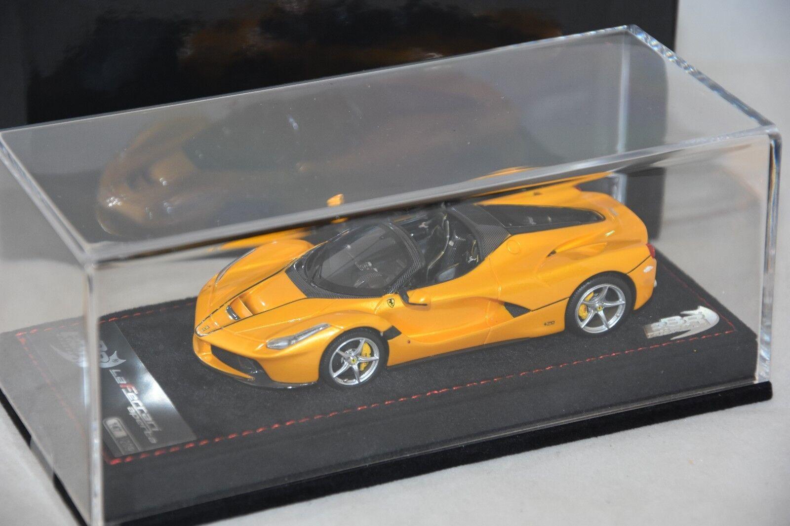 BBR BBRC187B  - Ferrari LaFerrari Aperta Jaune Tristato 2016 1 43