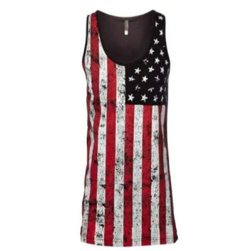 Details about  /Made in America Stars and Bars Tank Made in the USA Free Shipping