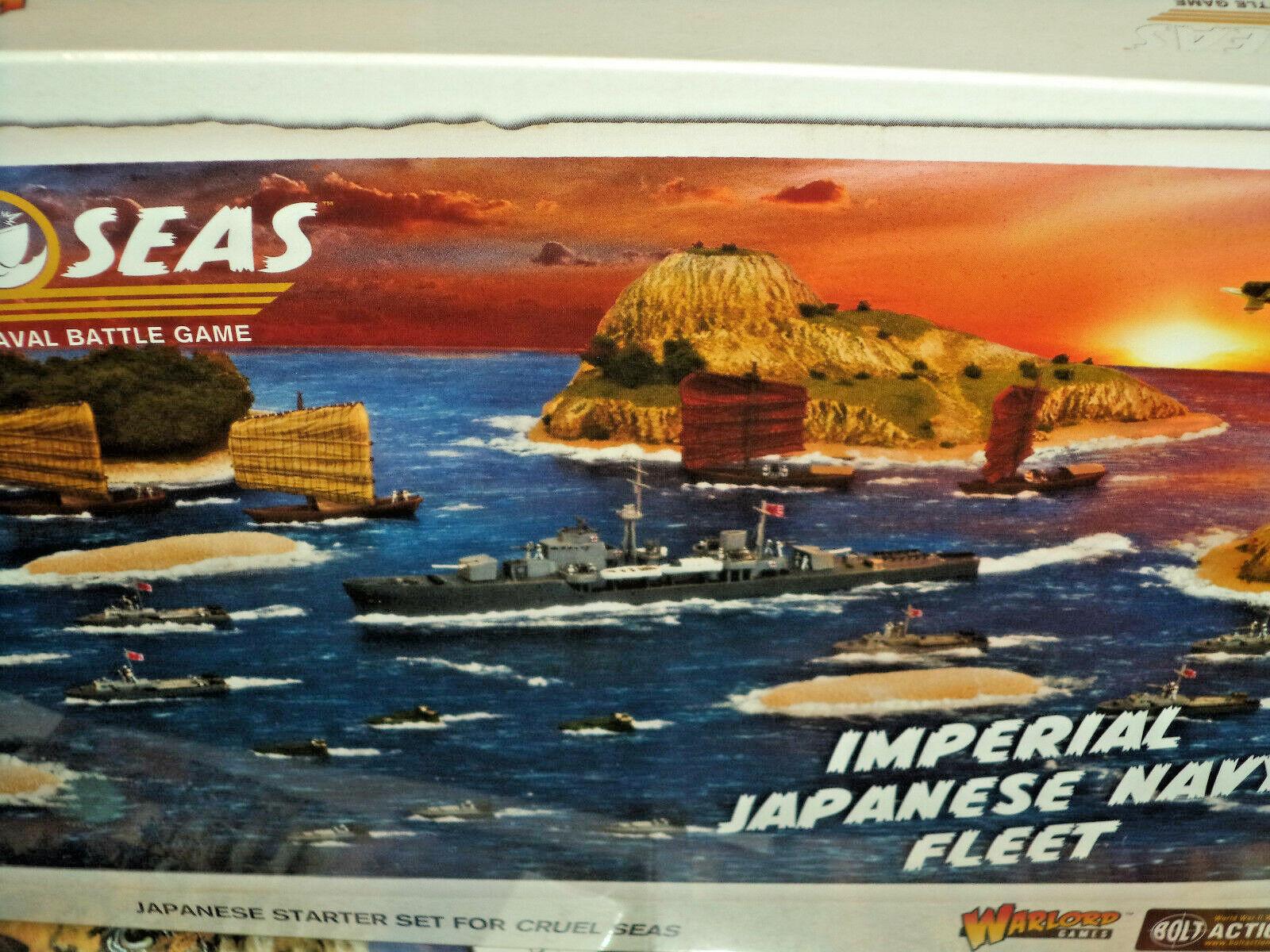 Imperial Japanese Navy Fleet Cruel Seas Starter Set 1 300 Scale Models WWII