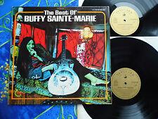 BUFFY SAINTE MARIE  ♫ BEST OF ♫  RARE TOP FOLKRECORDS #1A