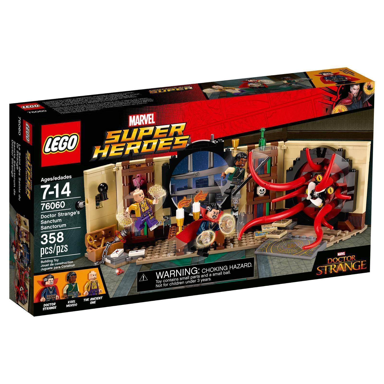 76060 76060 76060 DOCTOR STRANGE'S SANCTUM SANCTORUM lego NEW marvel heroes legos set DR. 0cc7a3