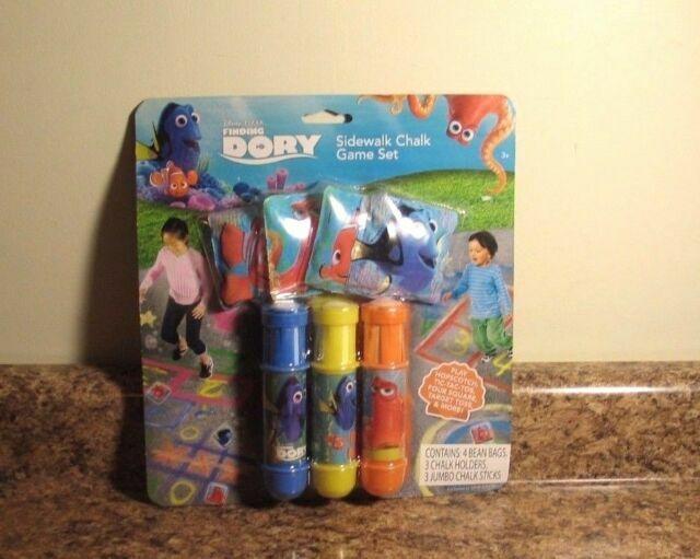 Disney Finding Dory Sidewalk Chalk Game Set