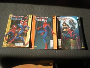 ULTIMATE-SPIDER-MAN-LOT-3-TOMES-N-17-21-27-MARVEL-PANINI-COMICS-2003-04