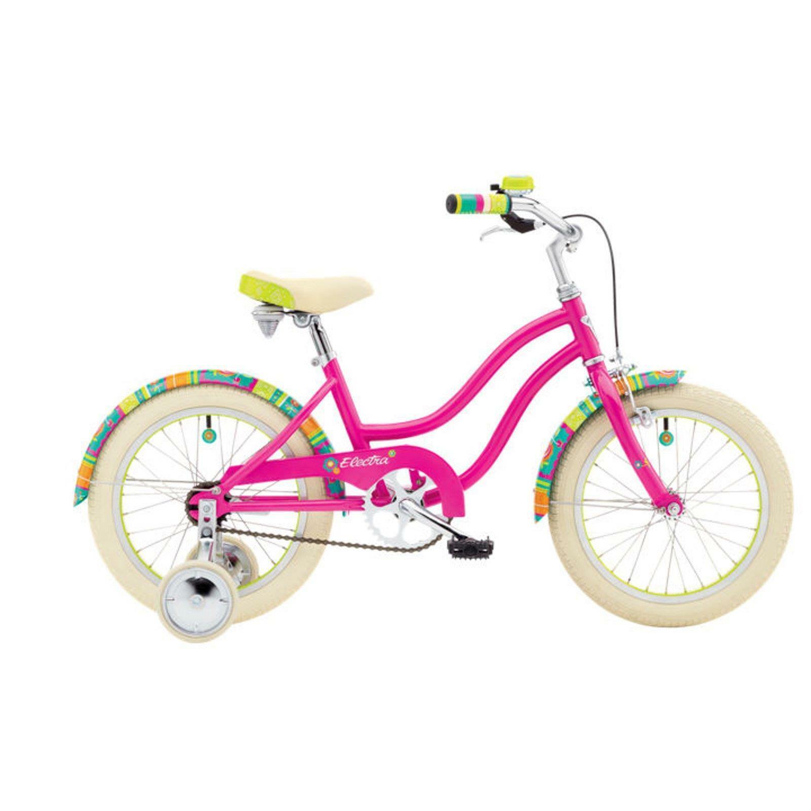 Electra Water Lily 1 Mädchen Fahrrad 16 Zoll Rosa Beachcruiser Rosa Kinder Rad