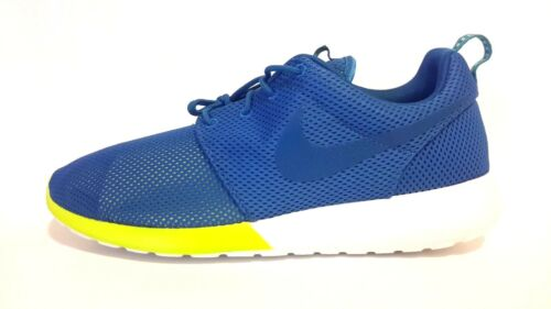 NEW Men/'s Nike Rosherun Military Blue Turbo Green 511881-400 FREE SHIPPING Run