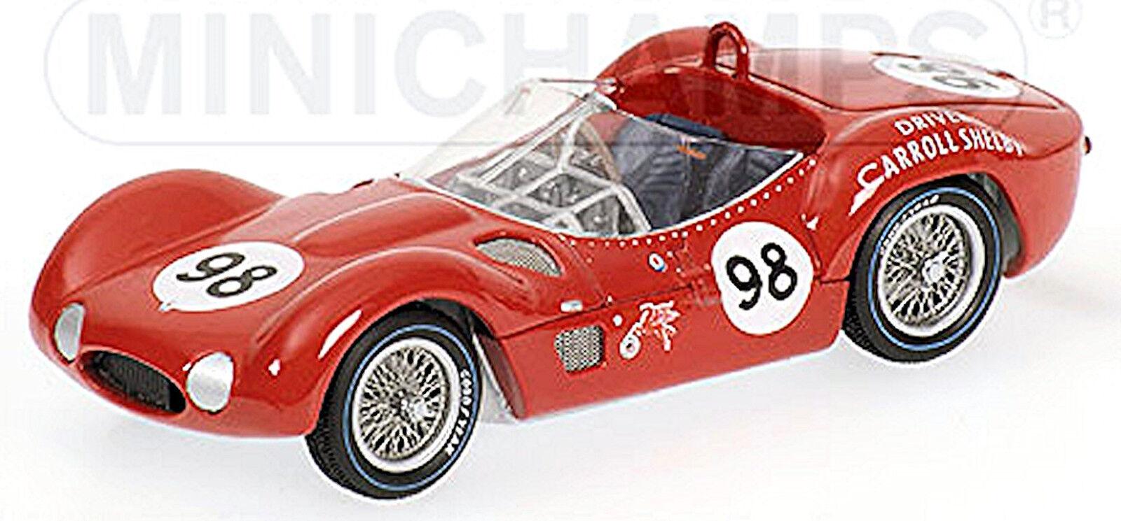 Maserati Tipo 61 L.A. Times Miroir GP Riverside 1960 C.Shelby  98 1 43