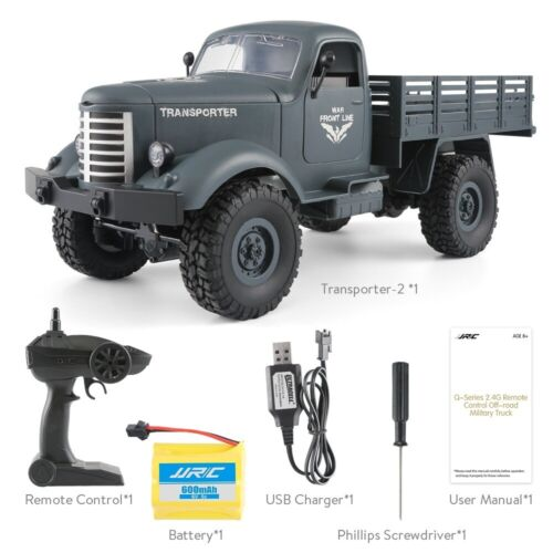 JJRC MILITARY WAR TRUCK TRANSPORTER REMOTE CONTROL TOY RC CHILD BOY GIRL PLAY