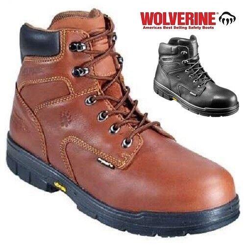 Wolverine Turner DuraShocks S3 HRO Waterproof Steel Toe Cap Safety Stiefel Sz 6-12