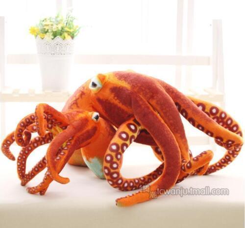 Octopus Plush Giant Simulation Toy Stuffed Cushion Animal Doll Soft Pillow Gift