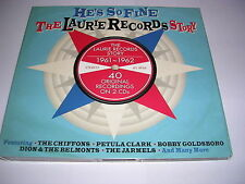 Various Artists - He's So Fine - The Laurie Records Story - CD X 2 (2013)