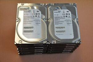 10 qty HP Seagate ST2000NM0001 2TB SAS 7200 rpm Hard Drive 658427-002/604081-001
