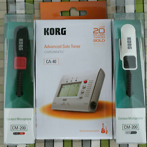 Korg-CA40-tuner-and-CM200-Piezo-Clip-Mic-ideal-tuning-bagpipe-drones-chanters