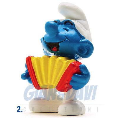 Cerca Voli Puffo Puffi Smurf Smurfs Schtroumpf 2.0225 20225 Accordeon Puffo Fisarmonica 2a Con Una Reputazione Da Lungo Tempo