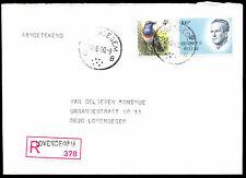 Belgium 1990 Lovendegem Registered Cover #C21595