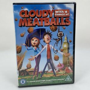 Cloudy-with-a-Chance-of-Meatballs-DVD-2010-Bill-Hader-Anna-Faris-New-amp-Sealed