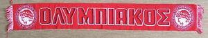Olympiacos Greece Schal scarf Fußball Ultras PAOK Panathinaikos AEK Aris Spartak