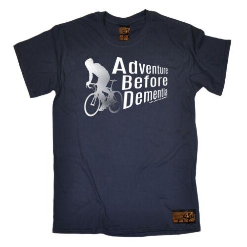 Adventure Before Dementia Cycling T-SHIRT Bike Tee Biking Funny birthday gift