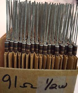 Carbon Comp 500mW 8.2M 1//2W 10/% Carbon Composition Resistor Lot of 10