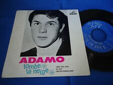 ADAMO - TOMBE LA NEIGE - PORTUGAL 45 EP